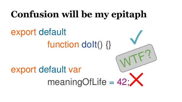 "Image that says ""confusion will be my epitaph"""